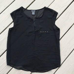 Shear Black T-Shirt